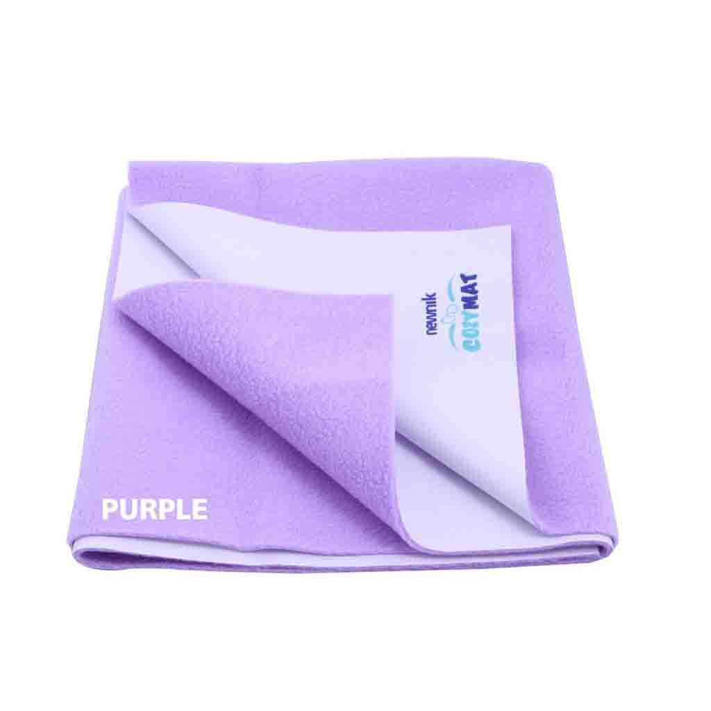 Newnik Reusable Absorbent Sheets/Underpads - Medium (Size: 70cm X 100cm) Purple,M