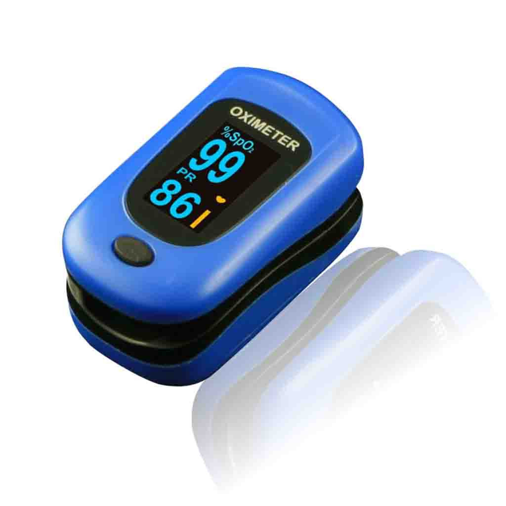 Newnik Px701 Finger Pulse Oximeter, SPO2, Pulse Rate, Perfusion Index, Royal Blue