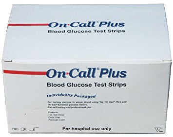 On Call Plus Blood Glucose Strips (200 Test Strips)