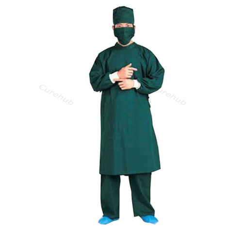 Bikees, Operation Theater Gown With Mask and Cap Male, Trovin PV, BCPL HOS 007