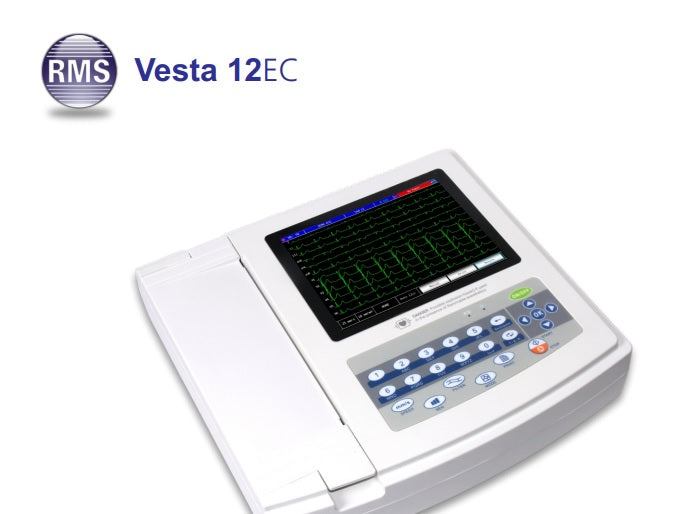 Vesta 12 Channel ECG System