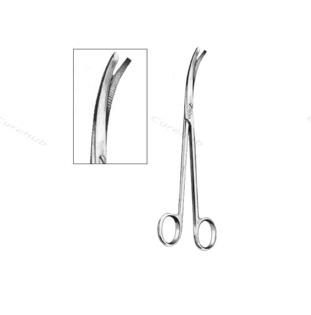 SISCO Devine Urological Scissors Chisel Ended Blades Curved BSC206