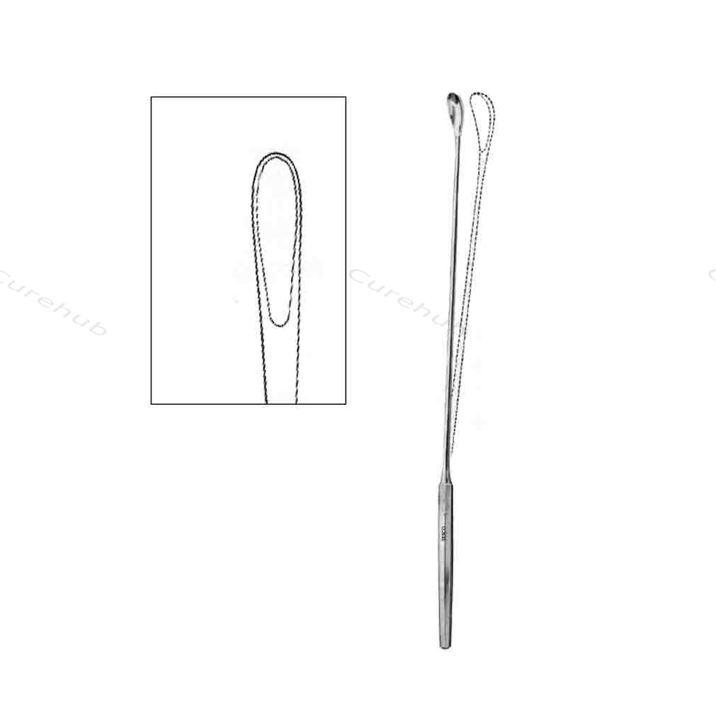 SISCO Luer Korte Gall Stone Scoops With Malleble Shaft BGB170