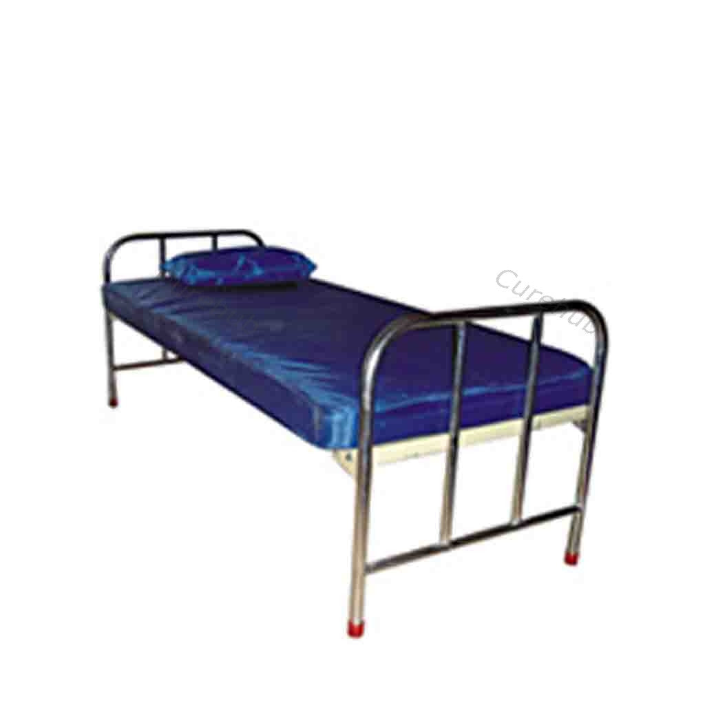 Ward Equipments, Single Hospital Cot with Mattress, BE 06