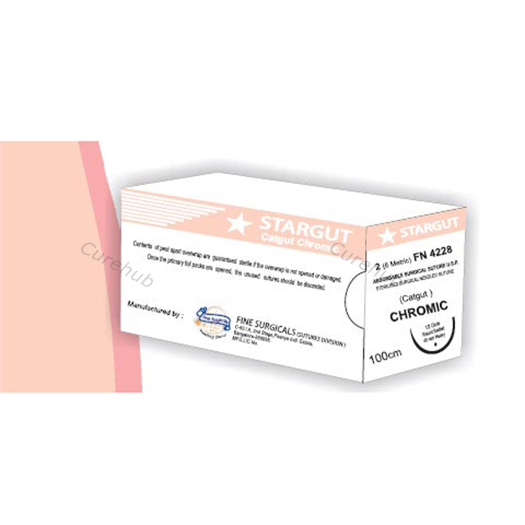 STARGUT Chromic - Absorbable Surgical Sutures Catgut Sutures