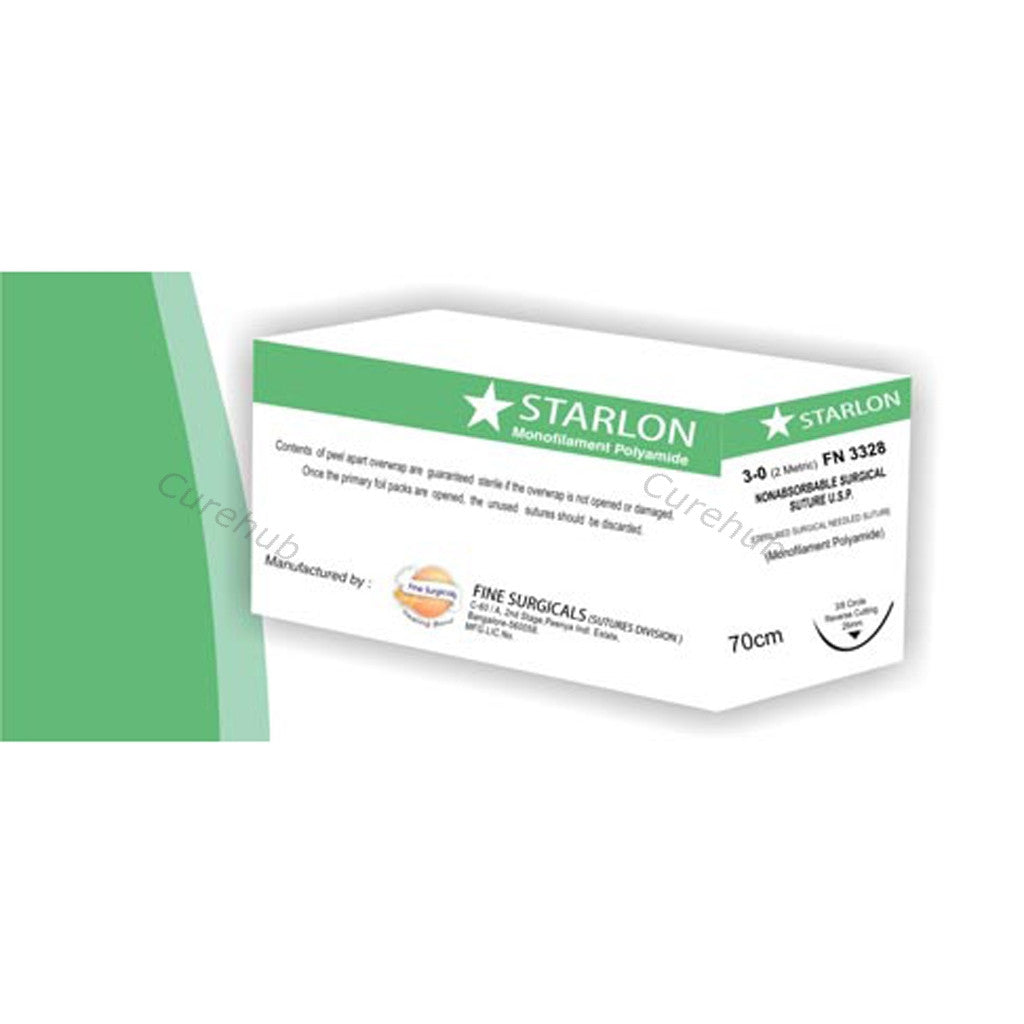STARLON Monofilament Polymide Nonabsorbable Surgical Sutures