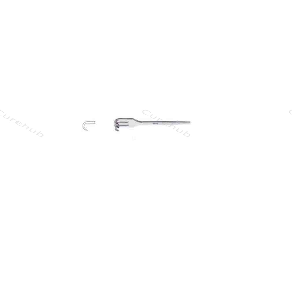 SISCO Wound And Trachea Retractors Sharp 3 Prongs BRT113S