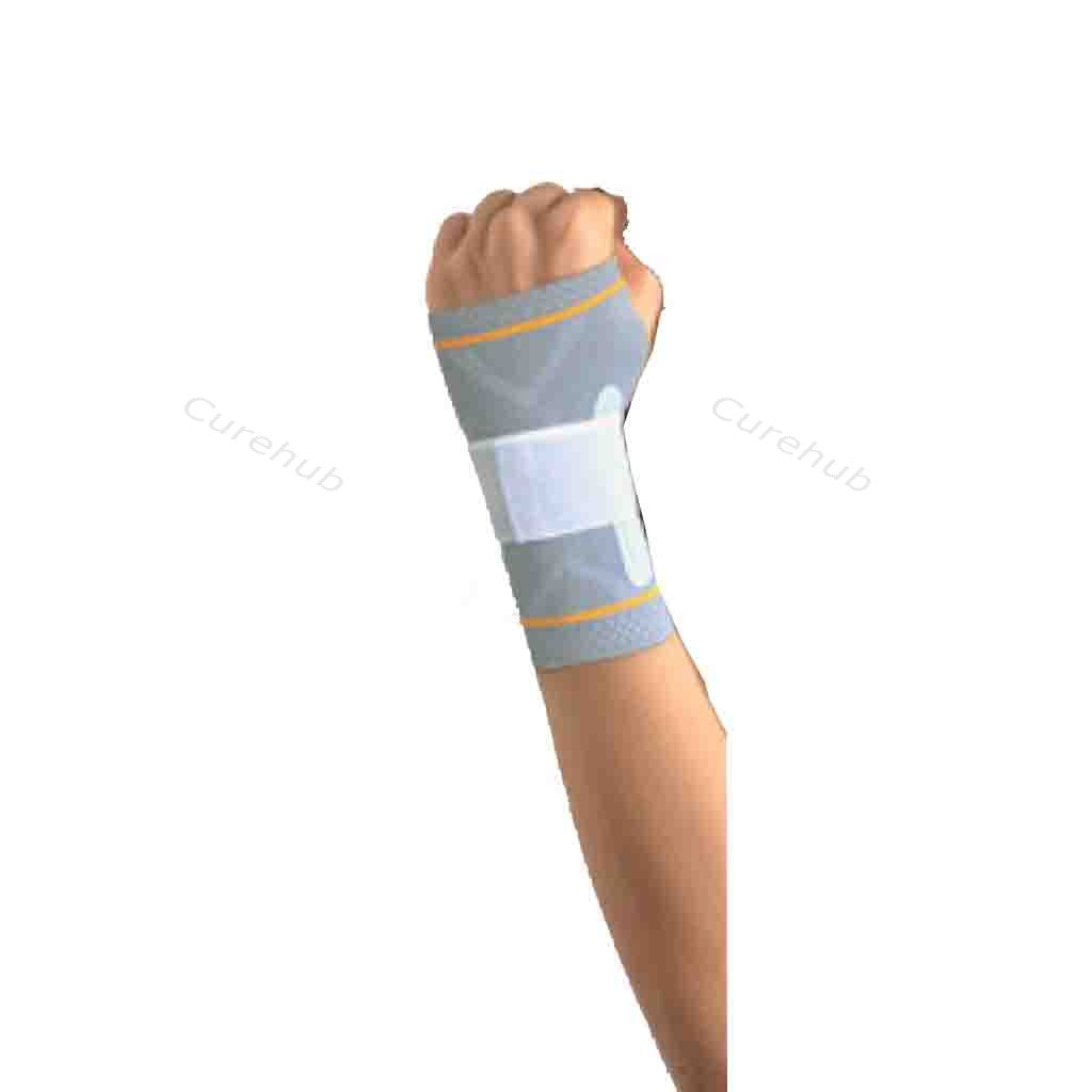 Wrist Splint Binder With Silicone Pressure Pad Left 5602