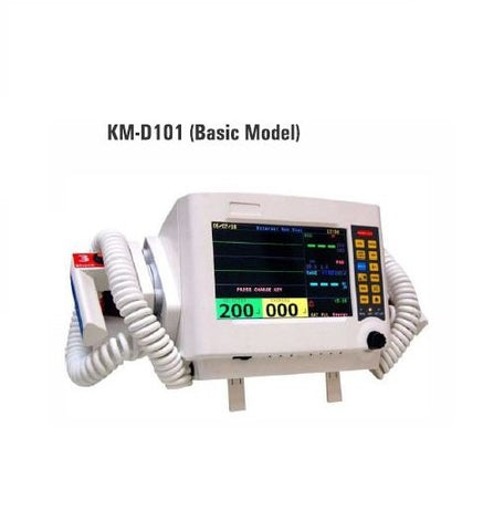 DEFEBRILATOR KM-D10 WITH PRINTER & ECG