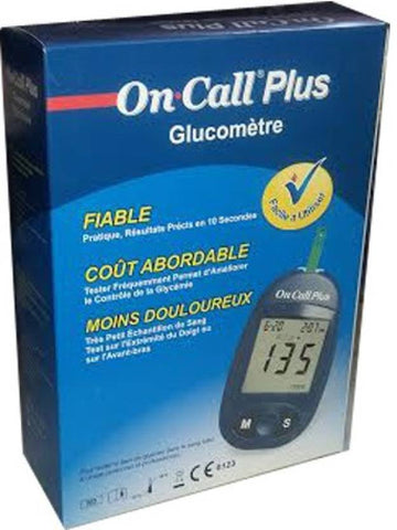 On Call Plus Glucometer (Blue)