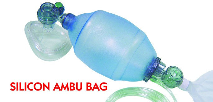 Silicon Ambu Bag 750 ML Pediatric