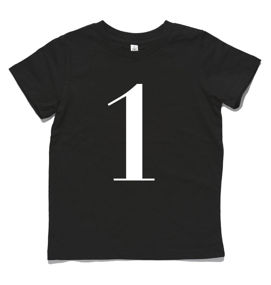 George Henry My Number 1 Black Tee