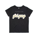 George Henry FOREVER Girl Gang Kids Tee Black