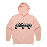 George Henry Girl Gang Womens Hoodie Pink