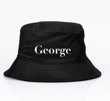 George Henry Kids Black Name Bucket Hat