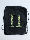 George Henry Monogrammed Kids Swimming Bag Camp Print