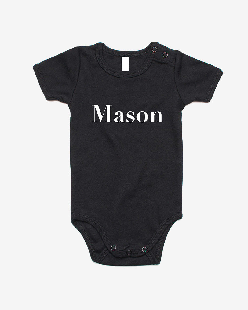 George Henry Name Onesie