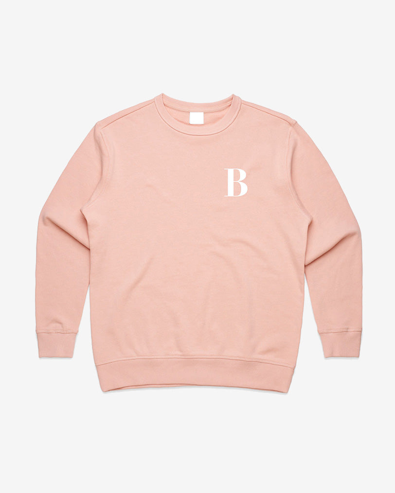 Womens Embroidered Sweatshirt (3 Colours Available)