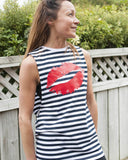 Kiss Me Stripe Tank