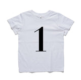 George Henry My Number 1 Tee White