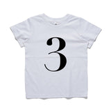 George Henry My Number 3 Tee White