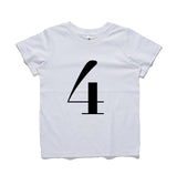 George Henry My Number 4 Tee White