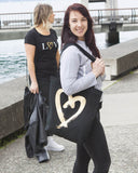 L♡VE Me Black Carrie Bag