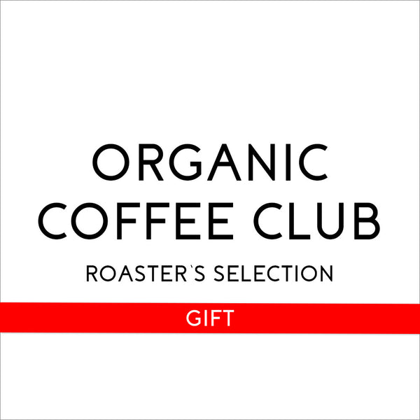 Organic Coffee Club's Roasters Selection 6 Month Gift - Organic, Fair Trade, and Bird Friendly Certified