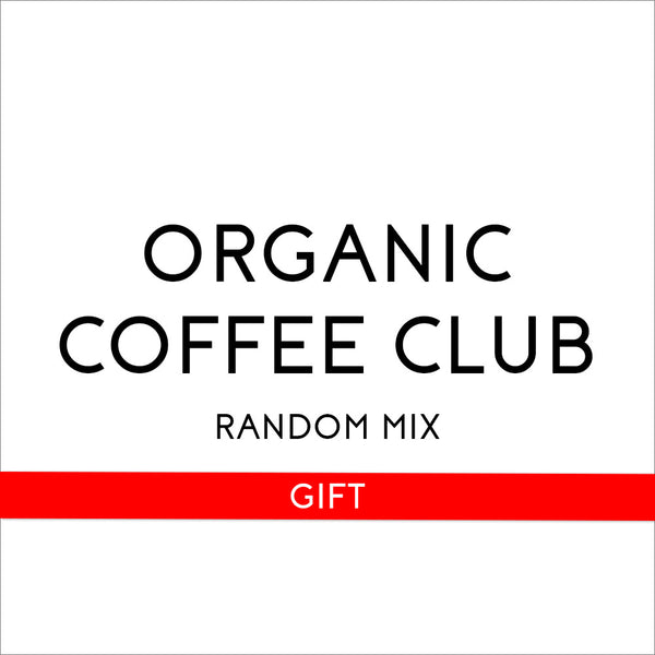 Organic Coffee Club's Random Mix 6 Month Gift - Organic, Fair Trade, and Bird Friendly Certified