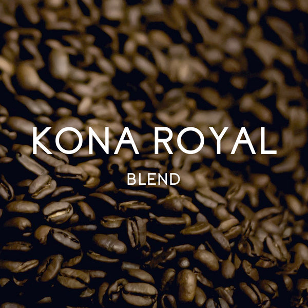 Kona Royal Blend - Organic, Fair Trade, and Rainforest Alliance Certified