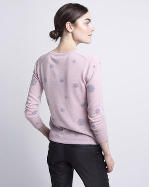 Paige Cashmere Polka Dot Sweater