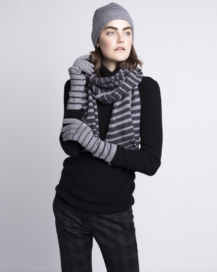 Blake Cashmere Striped Scarf