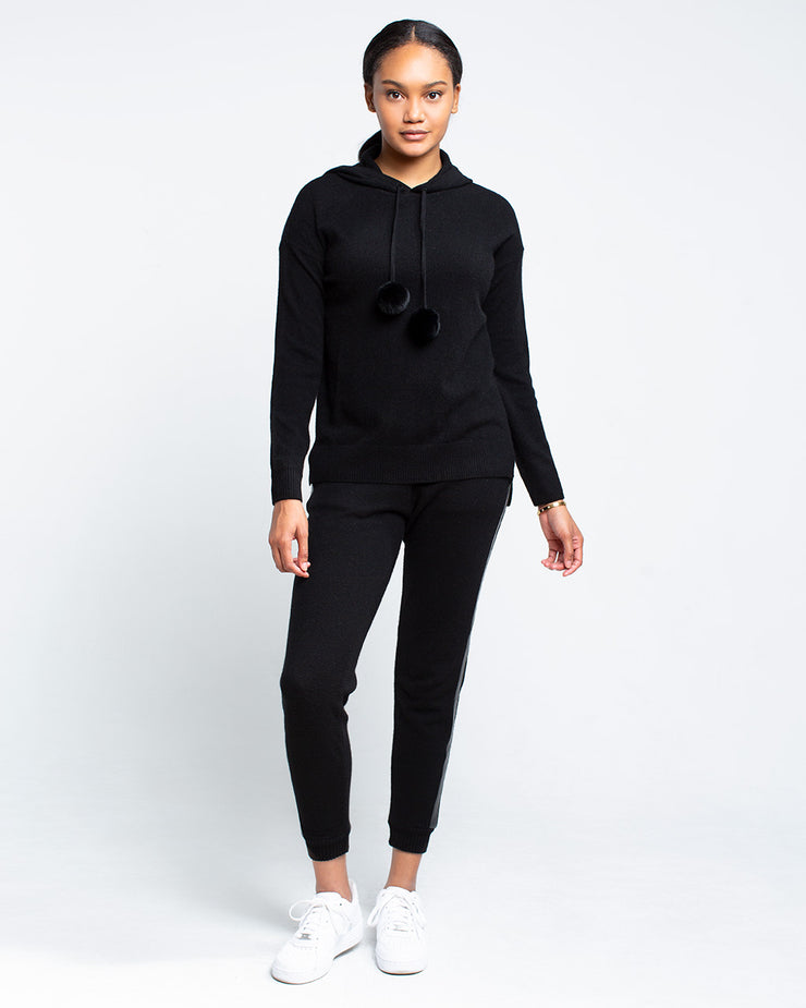 Ainsley Cashmere Popover Hoodie