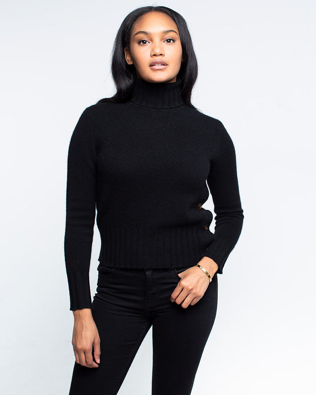 Lucy Cashmere Turtleneck