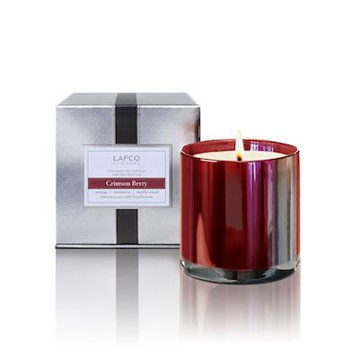 Crimson Berry - Small LAFCO Candle