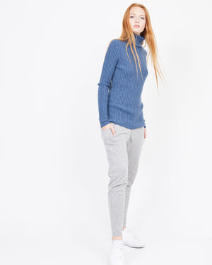 headtotoe cashmere turtleneck sweater ribbed