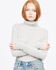 Turtleneck layering sweater