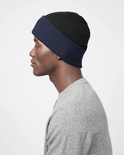 Men's Cuffed Rib Reversible Hat