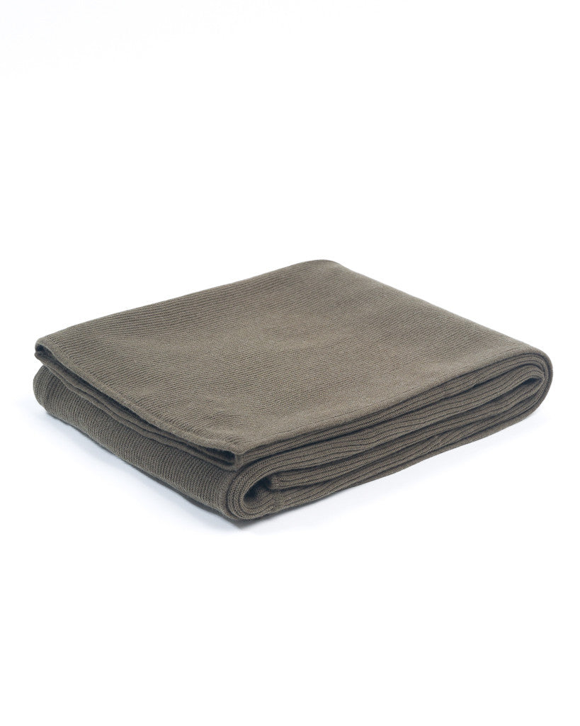 Cotton and Cashmere Throw