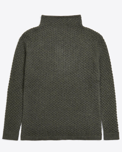 Woodward Honeycomb Turtleneck Sweater