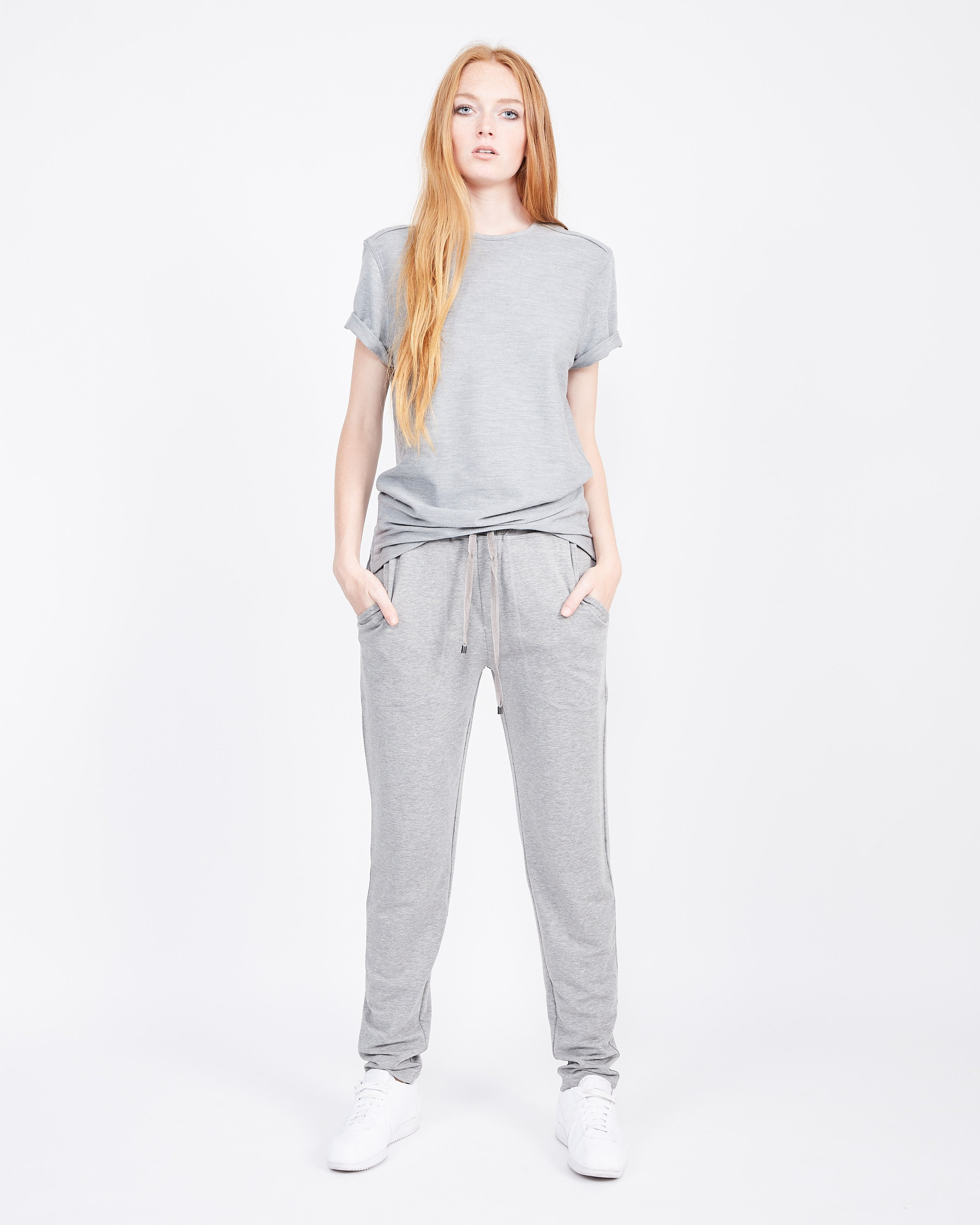 essential french terry pants