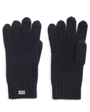 basic ribbed gloves
