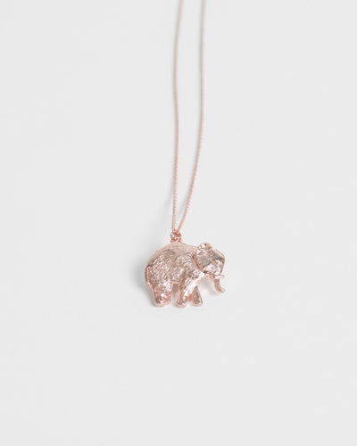 Kendra Phillip Elephant Necklace