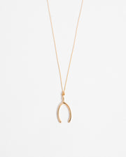 Kendra Phillip Wish Bone Necklace