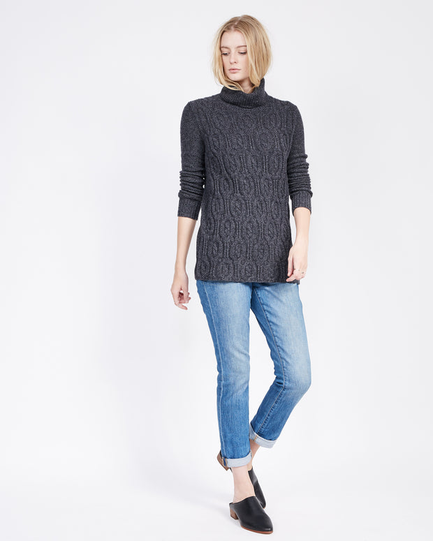 Thick Tunic Length Sweater