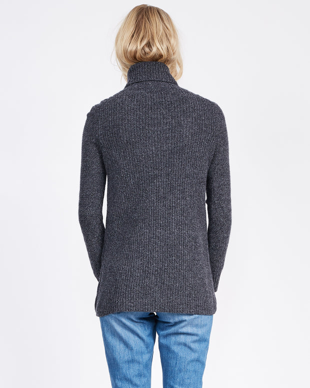 Thick cashmere Turtleneck