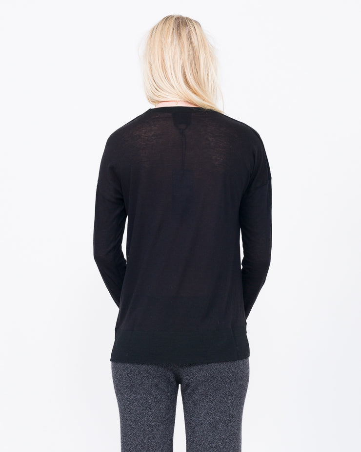 Alma Long Sleeve with Cashmere
