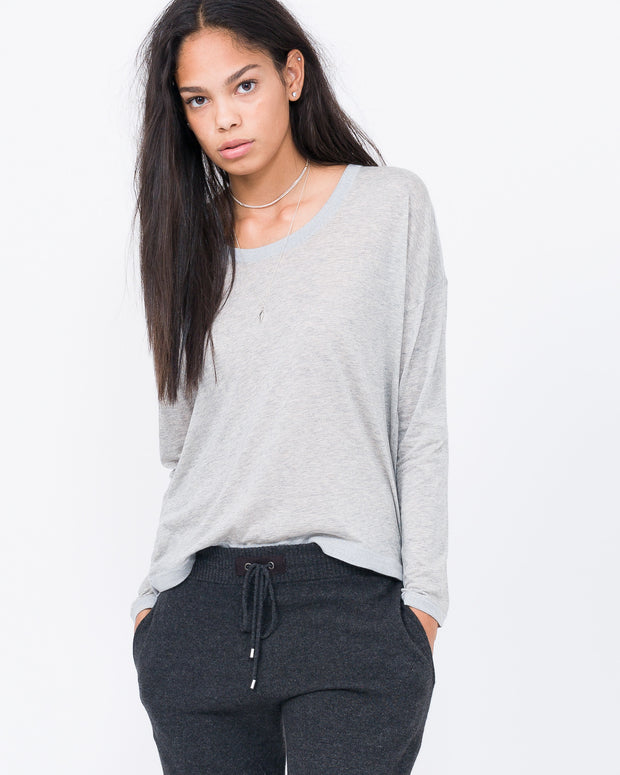 long sleeved cotton tee