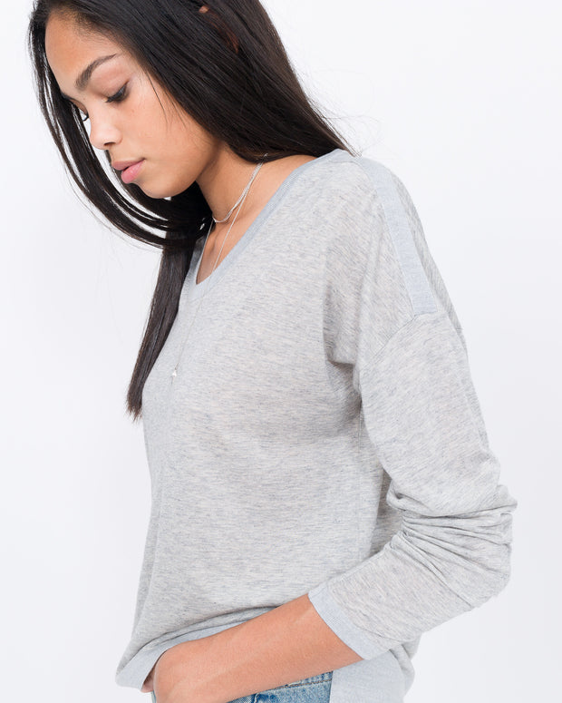 luxury cotton cashmere t-shirt