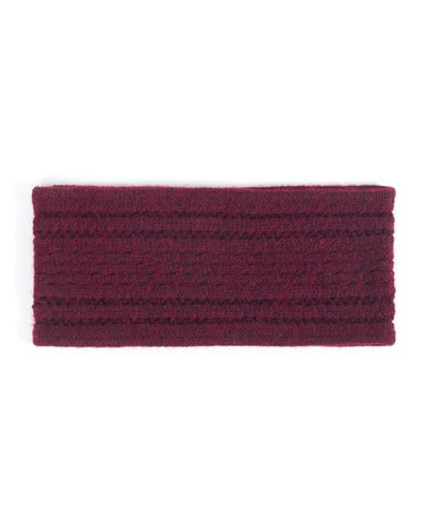 Mixed Stitch Headband